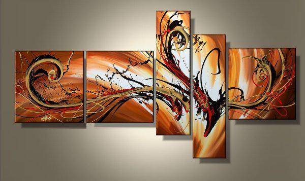 100-hand-painted-unframed-5-piece-canvas